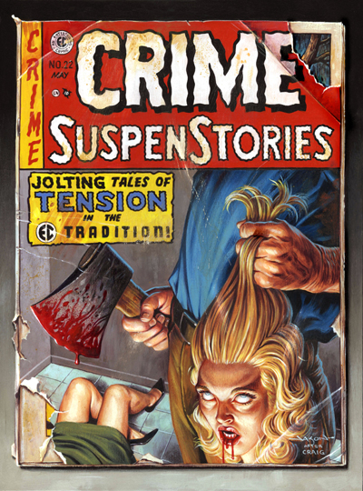 Crime SuspenStories 22 final med