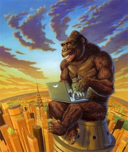 King Kong Blogs web