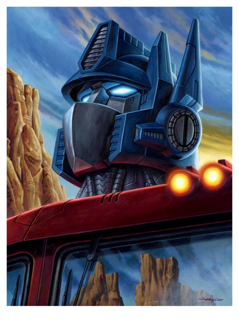 Optimus giclee